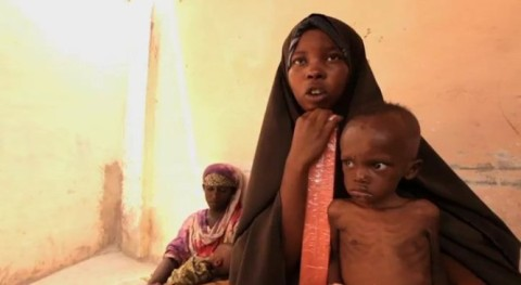 A Somali woman escaped the famine zone but unfortunately lost her children during the journey, she told Fault Lines. Credits: Al Jazeera Fault Lines