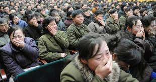 North Koreans weeped for the death of the Dear Leader, Kim Jong-il.
